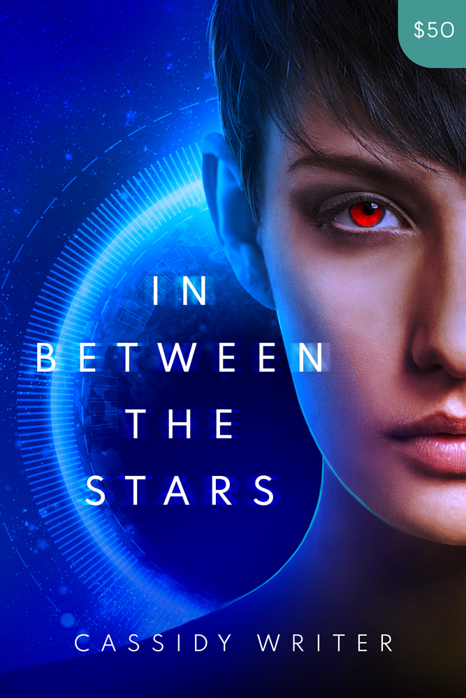Premade Science Fiction Book Cover Design: In Between the Stars