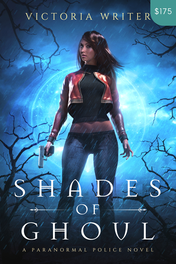 Premade Urban Fantasy Book Cover Design: Shades of Ghoul
