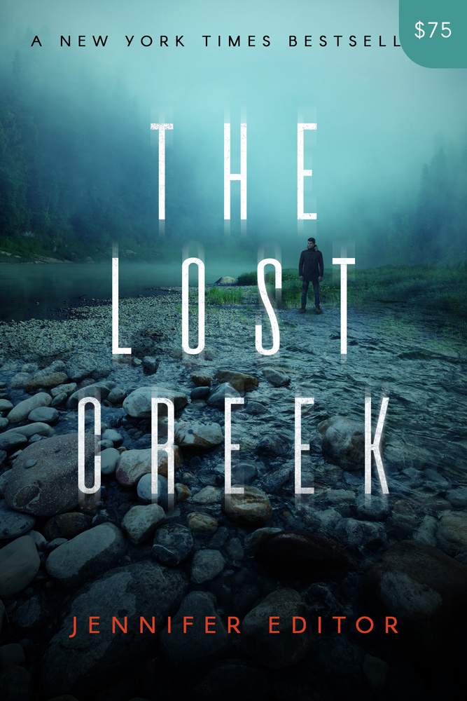 Premade Thriller Book Cover Design: The Lost Creek